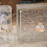 Lampe Led Jardin - Bloc de verre