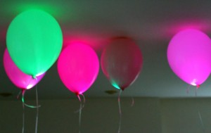 Ballons Leds