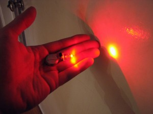 Détecteur d'obscurité LED :  Fonctionnement