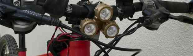 Cree : Lampe Leds pour vélo