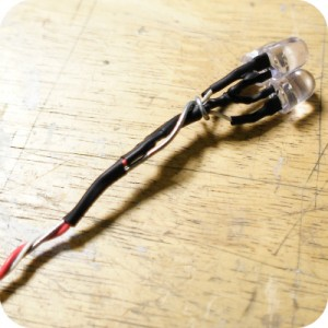 DIY LED USB - Connexion des fils